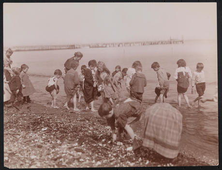 Bathing, Sea Side Hospital For Children, New Dorp, S.I.