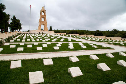 The 57th Infantry Regiment Memorial is a Turkish war memorial commemorating the men who died during the Battle of Gallipoli.