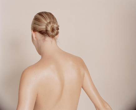 Portrait Of A Nude Woman Seen From Behind.