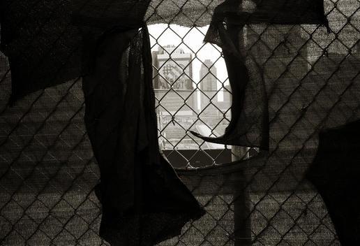 New York, New York USA JUly 4, 2003 Ground Zero