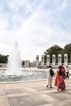 The National World War II Memorial, Washington, D.C.