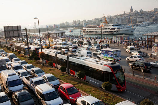 Overcrowded city of Istanbul as it s traffic problem is arising every single day even though other transportations like ferry boats and tramway lines are not enough to carry its citizens all over the city.