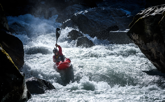 Training day - Extreme Kayaking World Championship 2015