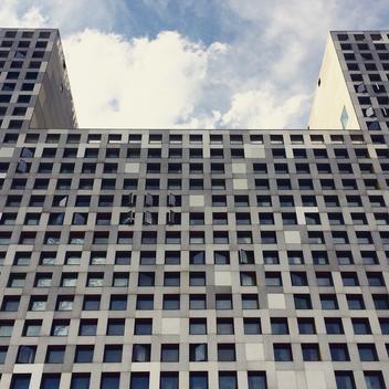 USA, Massachusetts, Boston, Massachusetts Institute of Technology, MIT, Simmons Hall