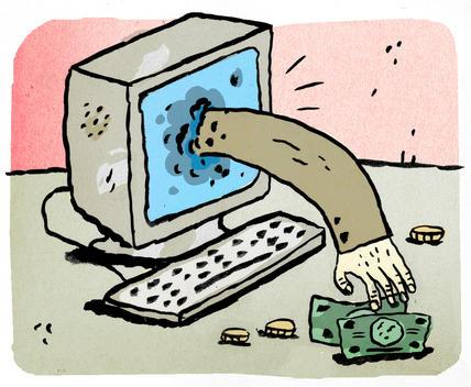 Illustration Of Technology Expenses
