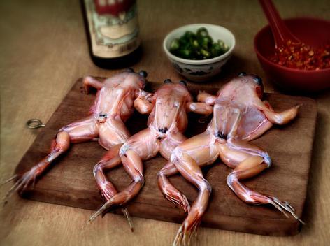 Hawker Food, Frog