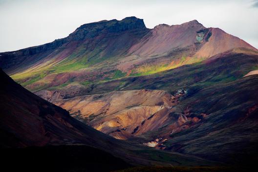 Colorful Mountain Landscape