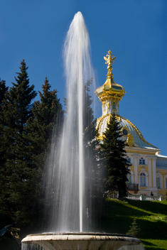 Fountain And Palace