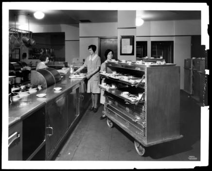 Food Truck, Diet Kitchen, Neurological Institute, Medical Center.