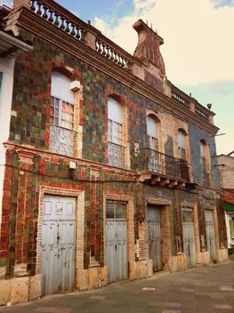 Historic building in Cuenca, Colonial, Ecuador