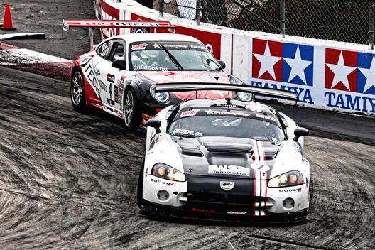 SCCA Racing; World Challenge Championship; Toyota Long Beach Grand Prix; #7 Dodge & #4 Porsche Car