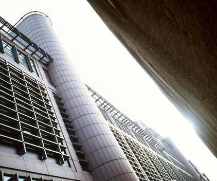 Modern office buildings, London, England, UK.