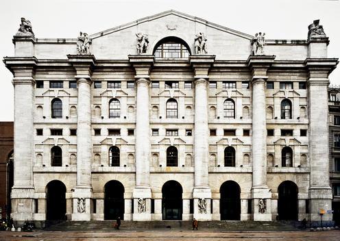 The Previous Milan\'S Stock Exchange