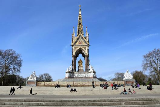 Albert Memorial on Kensington Gardens