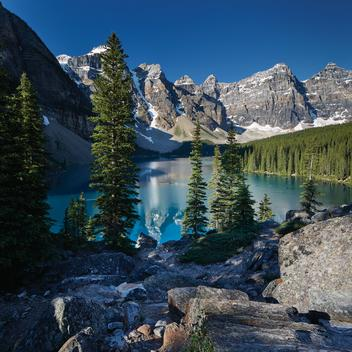 Lake Moraine, Banff Nation Park, Alberta Canada