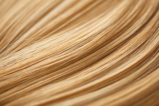 Extreme Close up of Blonde Hair