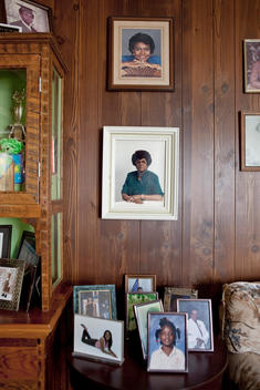 Photos Of Family Of African-American Appearance On Display