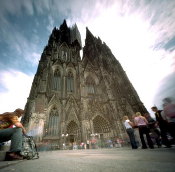 The Dom Chuch In Koln