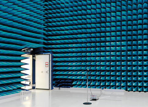 Anechoic Chamber, European Space Research and Technology Centre (ESTEC)