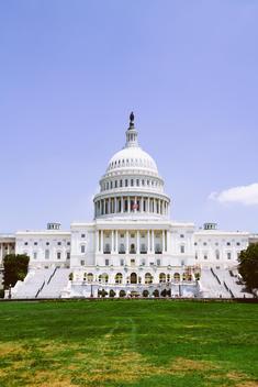 USA, Washington D.C., Exterior of the Capitol