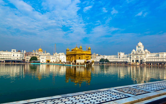 Lake and Golden Temple
