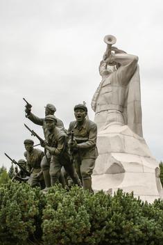 War memorial, Pyongyang.