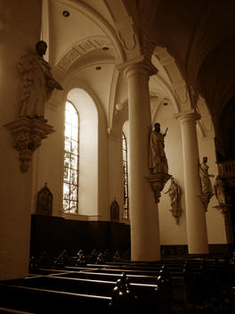 Christian church interior