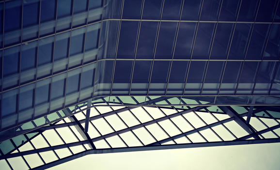 Details of modern architecture.