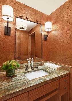 Elegant bathroom sink