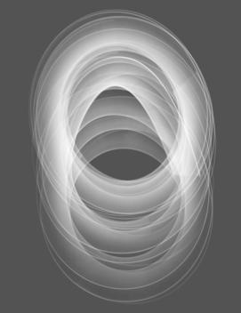 Abstract circle pattern.