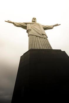 Brazil, Rio de Janeiro, Corcovado, Jesus Christ the Redeemer statue