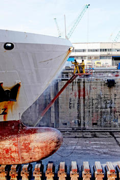 Chantier Naval de Marseille (CNdM) is a ship repair yard with modern and well equipped facilities, a highly skilled workforce, a wide network of specialists and strong teamwork ethic .