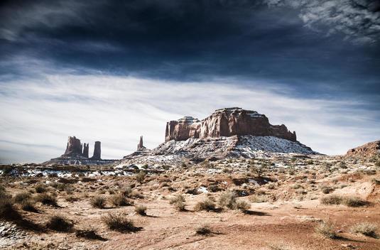 Amerika, Monument Valley, Felsformation I America, Monument Valley, rock formation
