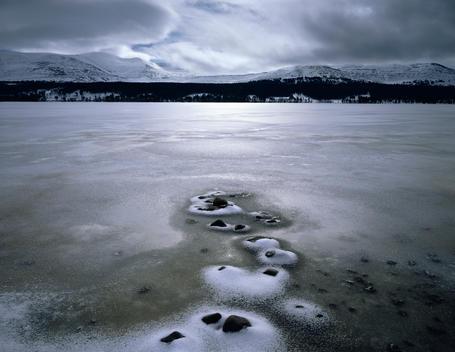 Landscape Of Loch Morvah, Cairngorm National Park Scotland
