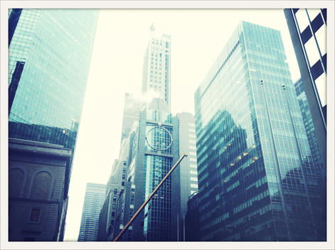 view of tall buildings