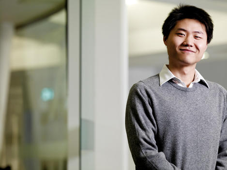 Young Professional Man, Asian Appearance, Smiling Portrait