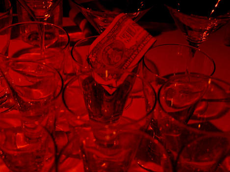 Money In Red-Light