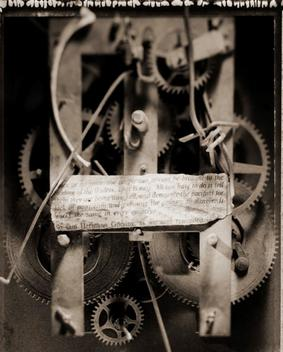 Negative Of Machine Parts