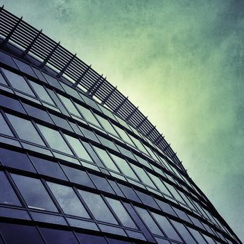 Office building, modern archtektur, Wuppertal, Germany