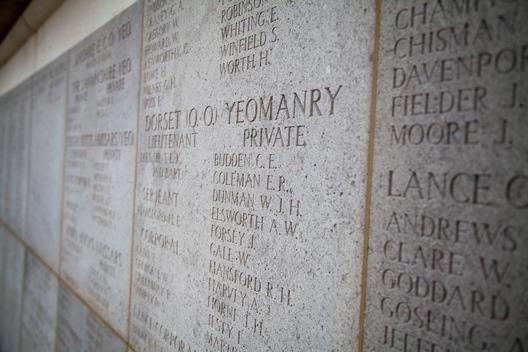 The Royal Naval Division Memorial in Gallipoli