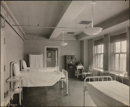 The Women Employee\'S Hospital Room At Lord & Taylor Department Store.