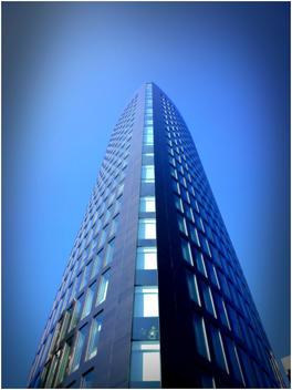 modern architecture, skyscraper, Germany, North Rhine-Westphalia, Dortmund