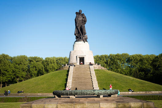 Soviet War Memorial at Treptow Park Berlin.