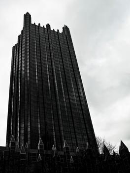 Modern, Gothic, Architecture, Skyscraper