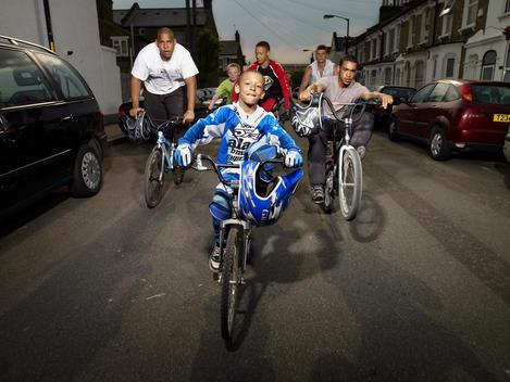 Bmx Group Riding