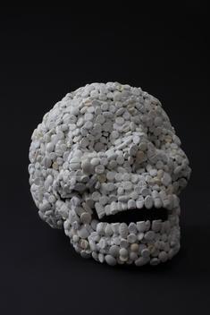 Skull Made Of Pills, Death, Medicine, Vanitas