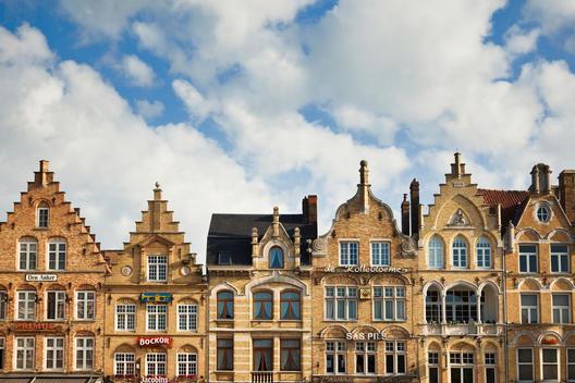 Flemish Architecture in Ypres, Belgium