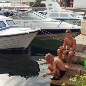 Kids in Marina