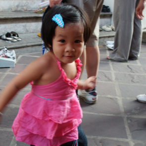 Baby girl in Bangkok