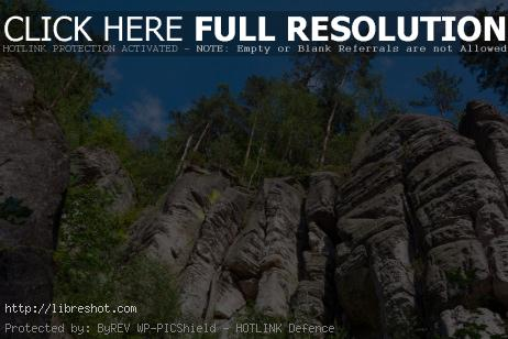 Free image of Rocks in the Bohemian Paradise